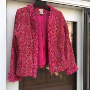 ❤️Final cost $6♥️SIGRID OLSEN SPORT Pink Jacket
